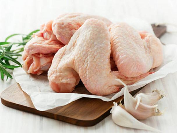 Organic Chicken Wings, Non-GMO Feed, Pastured 1lb lffc