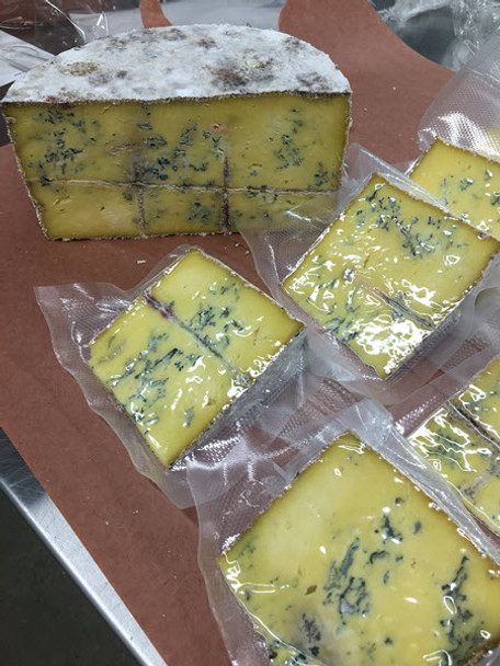 Organically produced Raw milk Blue Cheese. Semi-soft. Aged 4-6 months. (approx. 5 oz.)