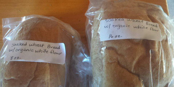 Organic Wheat Bread from Jersey Hollow