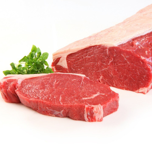 Organic, 100% Grass-Fed, Beef Sirloin Steak 1 lb approx