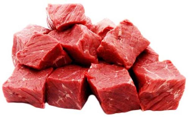 Bison Cubes, Grass-Fed, Pastured1lb lffc