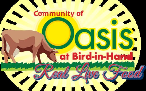 Oasis Raw Organic Grass-Fed Cheddar Sharp XX  os