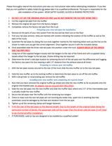 Shopline Dual Exhaust Kit Instructions