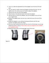 Dodge Bumper Adapter Instructions