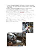 97-06 Jeep Wrangler Single Exhaust Kit Instructions