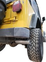 "Jeep Wrangler 2001-2006 Customizable Single Exit 2.5"""