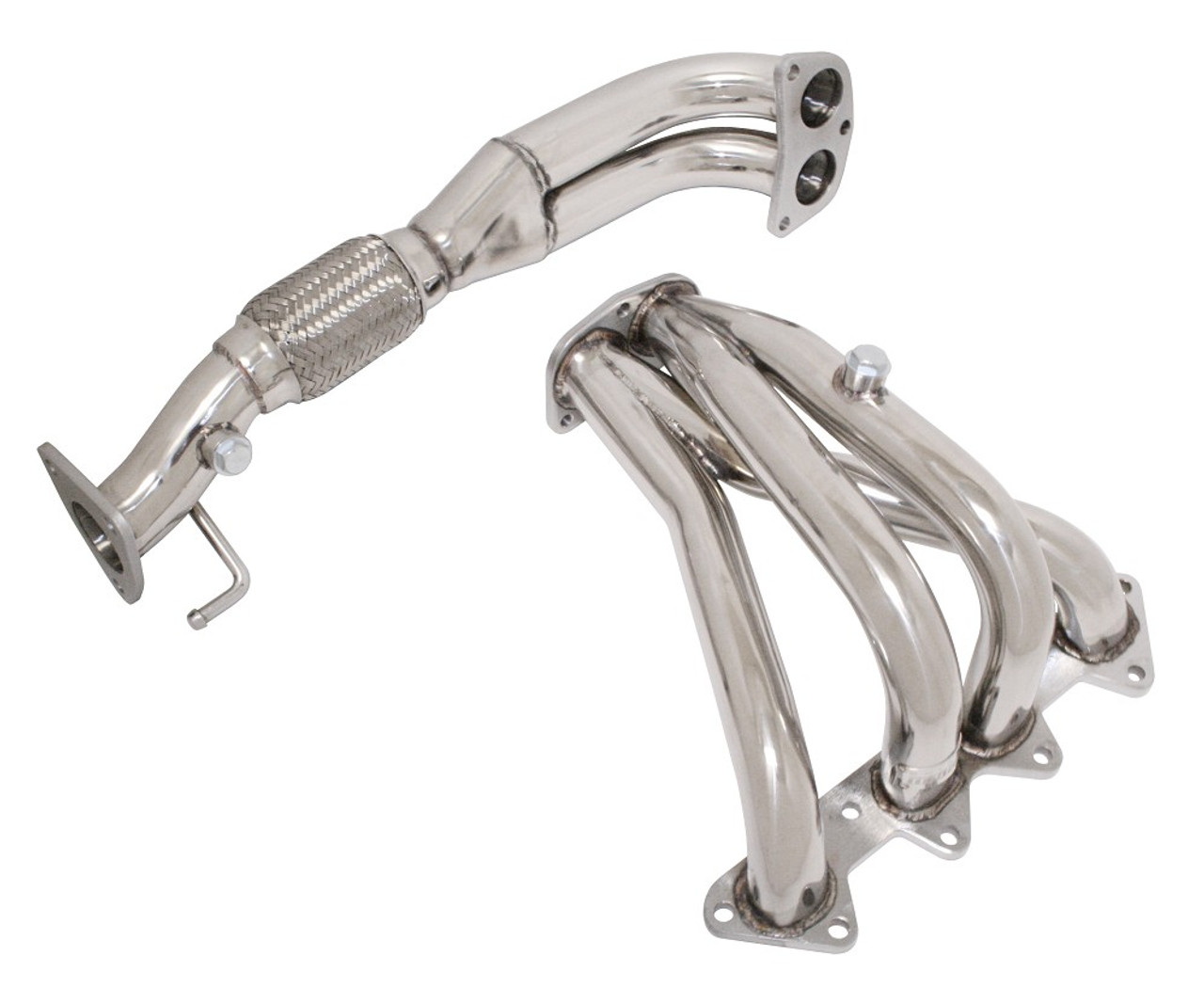 Megan Racing Honda Accord 98-02 4Cyl Stainless Steel Headers HA98L4