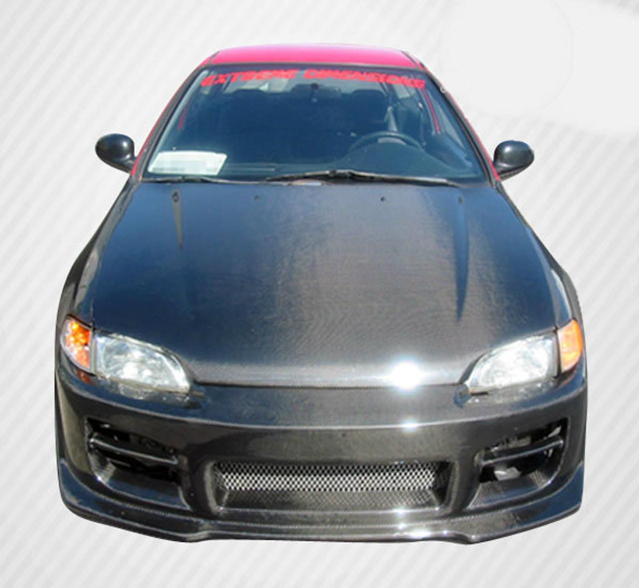 1992 1995 Honda Civic 2DR HB Carbon Creations OEM Hood