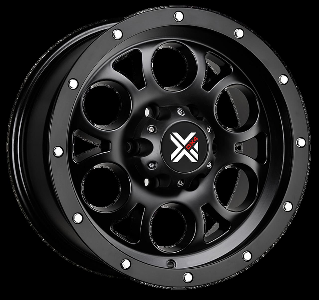 Free Shipping On Dx4 16x8 5 Type Tuff 5x5 5 127mm Matte Black 4x4 Wheels Set Of 4 Wheels
