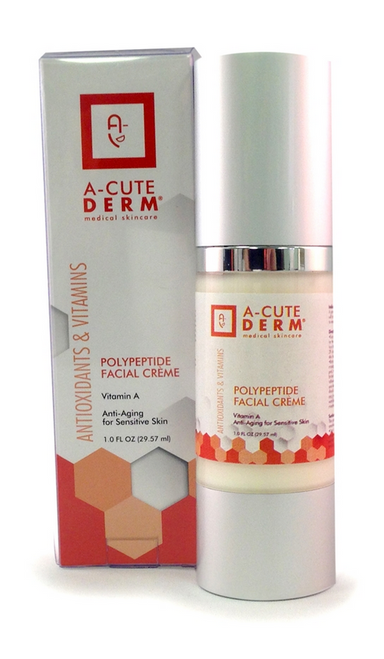 A-CUTE DERM Polypeptide Facial Creme 1oz