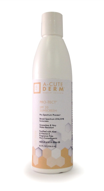 A-CUTE DERM Pro-Tect SPF 20 Lotion 4 oz