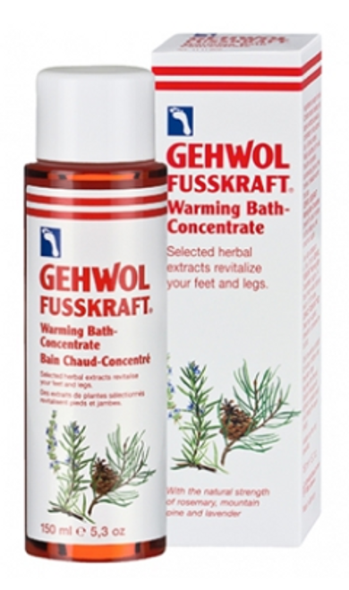 Gehwol Fusskraft Warming Bath 5.3oz