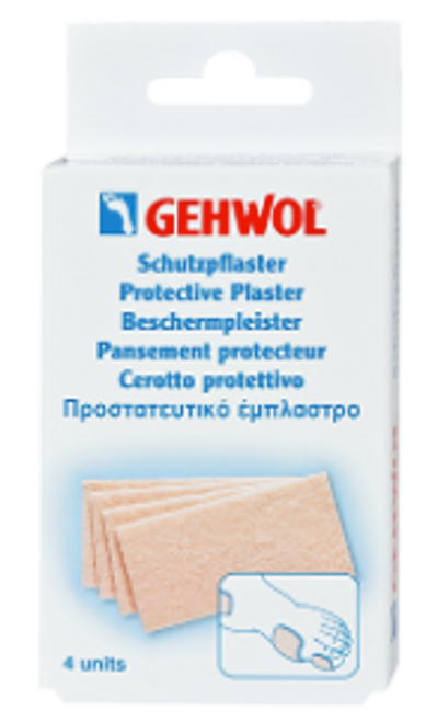 Gehwol Protective Plaster Thick, 4-Pieces