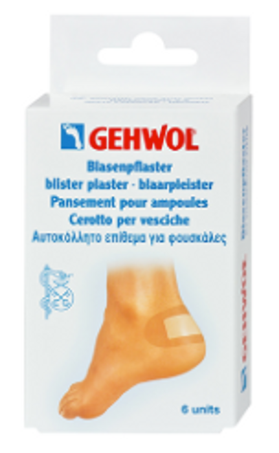 Gehwol Assorted Blister Plaster 6-Pieces