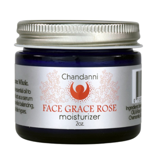 Chandanni Face Grace Rose Moisturizer 2oz