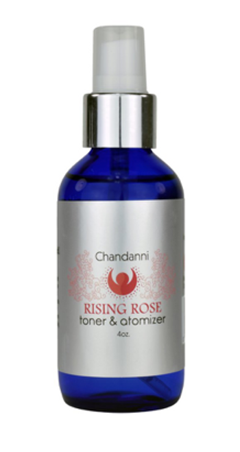 Chandanni Rising Rose Facial Toner 4oz