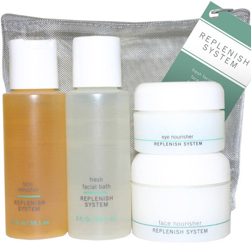 Credentials Replenish (Anti-Aging) Travel Kit  (4 pieces)