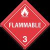 "INCOM TA300SS Class 3 Flammable Liquids 10.75"" x 10.75"""