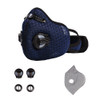 Fierce Safety SC400 Sport Mask Activated Carbon Dust Mask with Exhalation Valves (1 Mask)