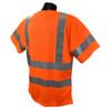 Radians ST11-3POS Orange Type Class 3 Short sleeve T-shirt w/ Max Dri