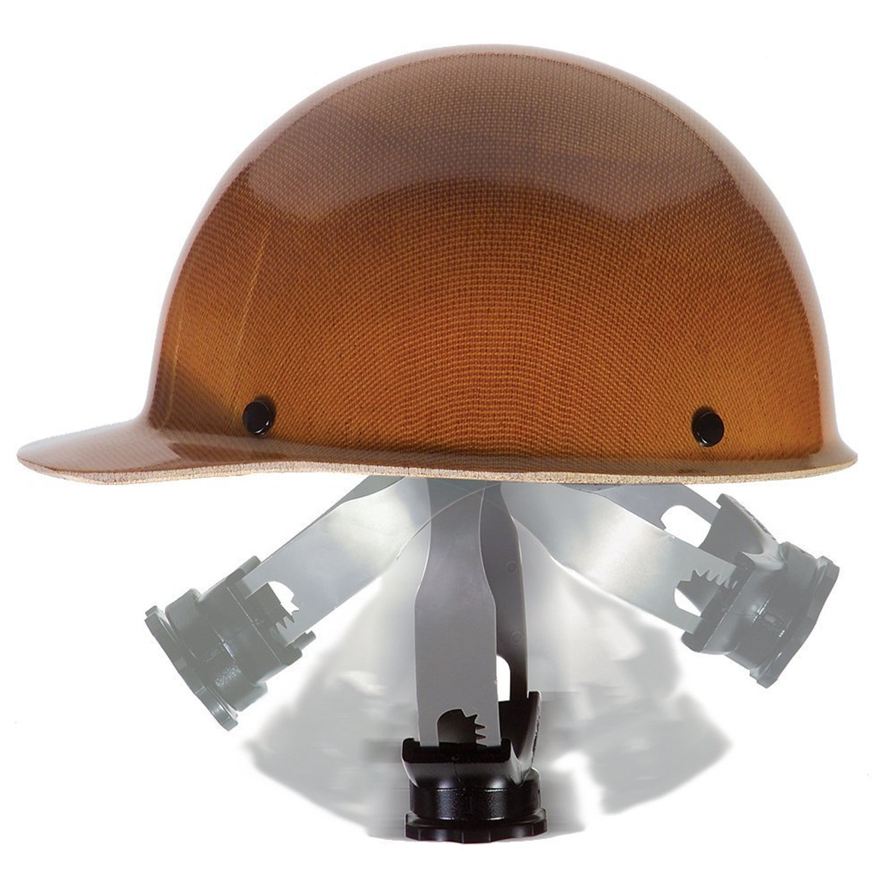 816654 MSA Plastic//Nylon Hard Hat Suspension,Ratchet,4