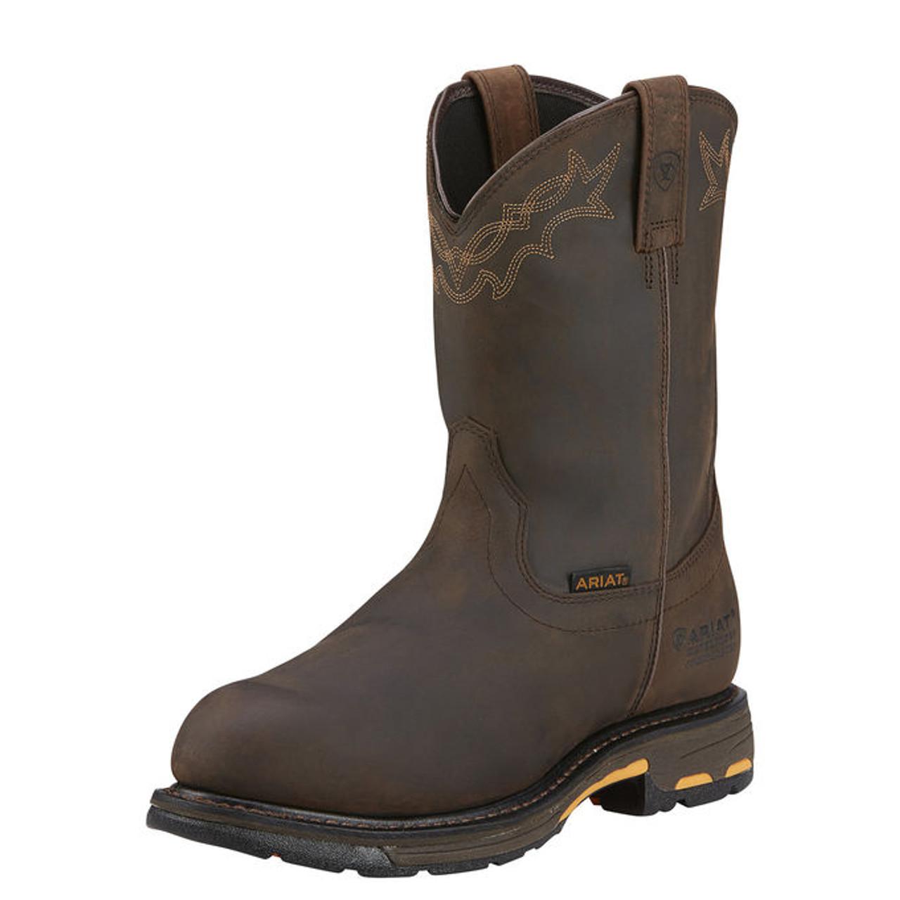 Ariat WorkHog Waterproof Composite Toe Work Boots