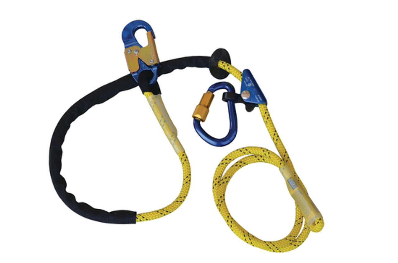 3M DBI-SALA 1234070 Pole Climber/'s Adjustable Rope Positioning Lanyard
