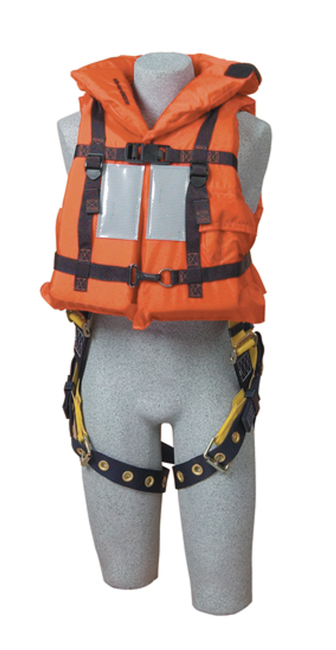 DBI SALA 9500468 Off-Shore Hi-Vis Harness Life Jacket (Universal Size) -  Industrial Safety ProductsIndustrial Safety Products