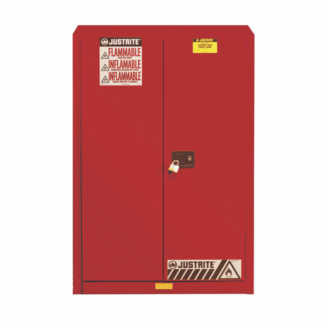 Justrite 894521 Flammable Cabinet 45 Gal - Industrial ...