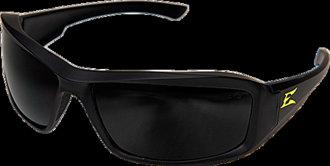Edge Eyewear TXB246 Brazeau Torque White Frame//Polarized Smoke Lens