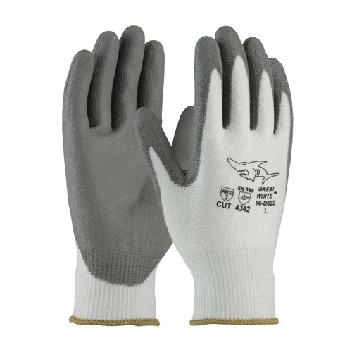 PIP 16-D622 Seamless PolyKor Gloves Smooth Grip on Palm & Fingers (Dz)