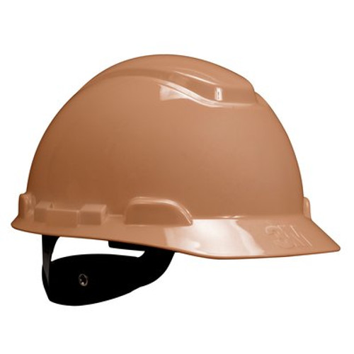 3M Tan Cap Style Hard Hat 4 PT Ratchet with Uvicator 20 EA/Case