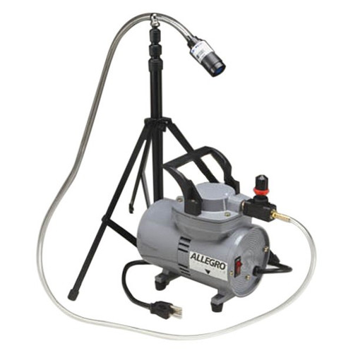 Allegro 9805 Diaphragm Sampling Pump with Stand