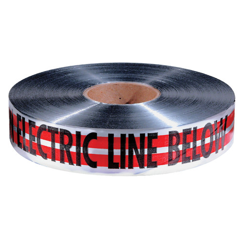 """Empire 31-107 """"Caution Electric Line Below"""" Magnetic Tape (1000')"""