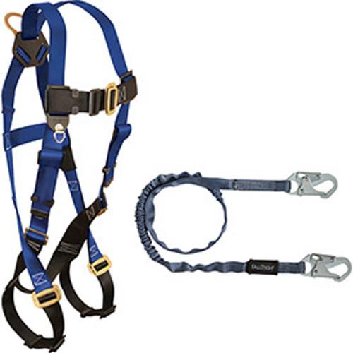 FallTech 70158259 Harness/Lanyard Combination Set