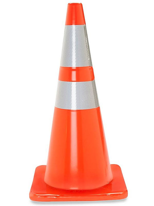 Cortina Traffic Cone with Reflective Collar - 28""