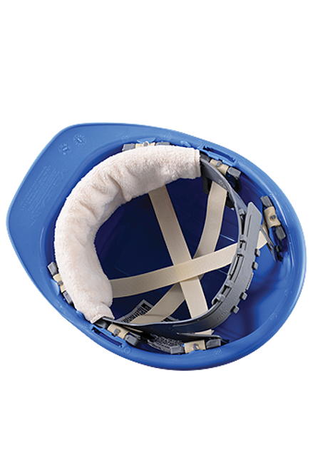 Occunomix 870B100 Beige Snap-On Hard Hat Sweatband (100/PK)