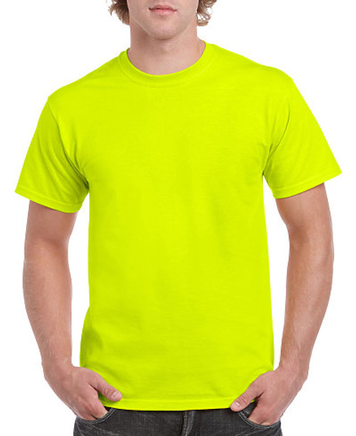 Gildan G5000 Heavy Cotton Adult Tee - Safety Colors