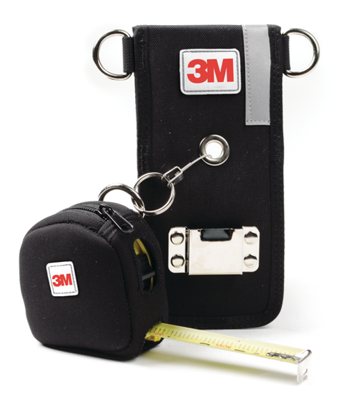 DBI SALA Holster with Retractor & Large Tape Measure Sleeve Combo