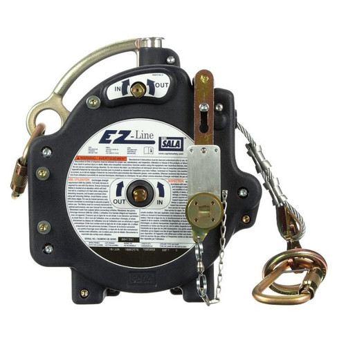 DBI SALA Retractable Horizontal 60' Cable Lifeline System 7605060