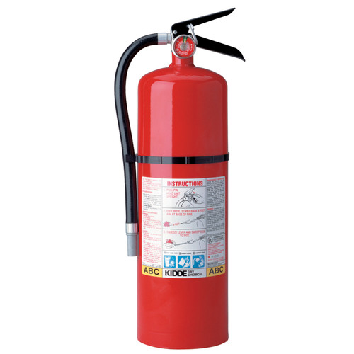 Kidde 466204 Fire Extinguisher Pro 10 Consumer 10 LBS ABC