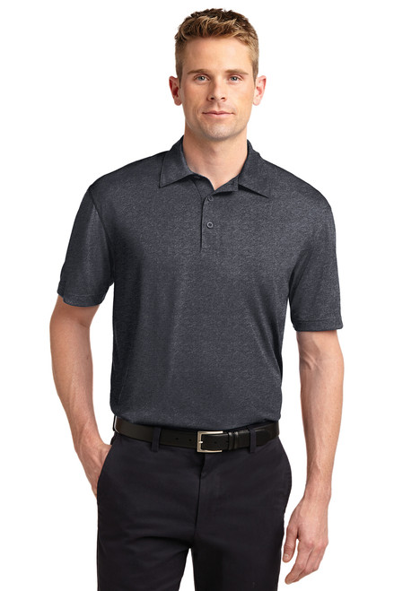 Port & Company ST660 Sport-Tek Heather Contender Polo