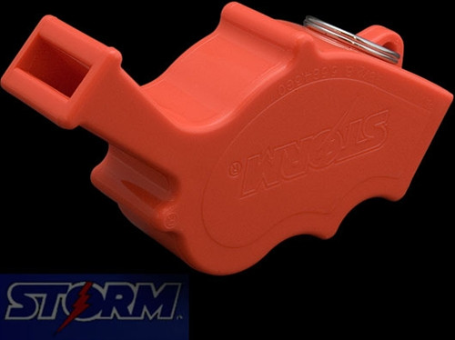 Storm Whistle 101 All-Weather Orange Safety Whistle