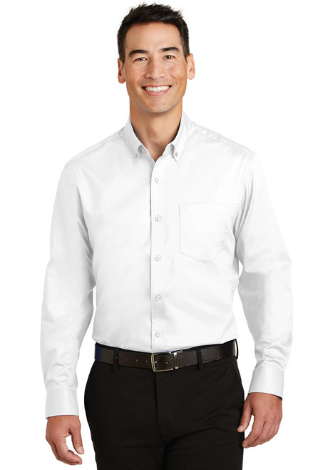 Port & Company S663 Port Authority SuperPro Twill Shirt