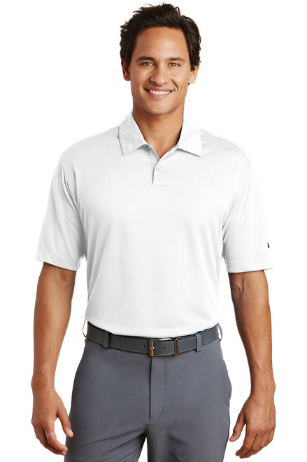 Nike 373749 Dri FIT Pebble Texture Polo
