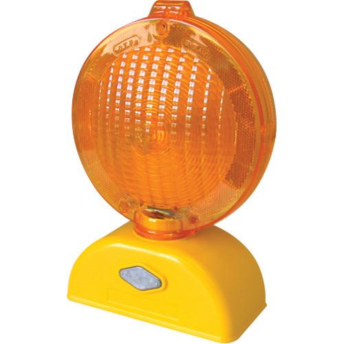 Cortina 03-10-3WAYDC Polycarbonate LED Barricade Amber Light