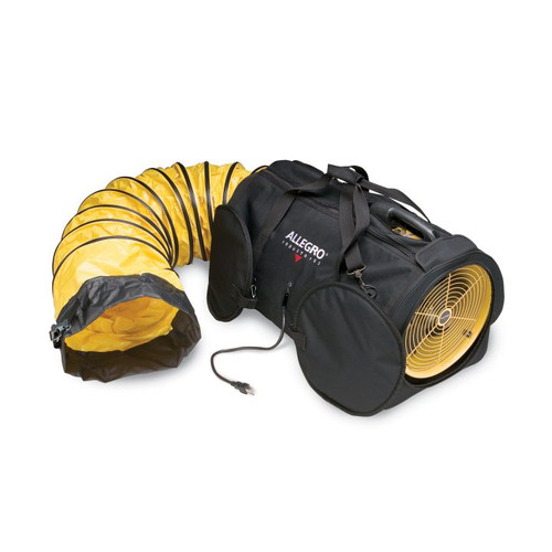 """Allegro Air Bag 12"""" Blower with 25' Ducting - 9535-12L"""