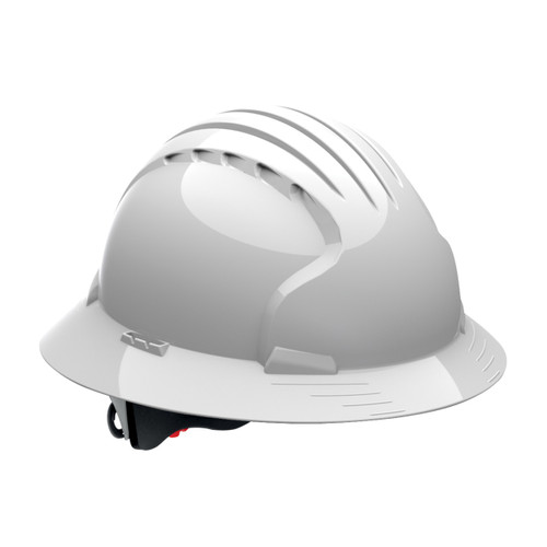 PIP Deluxe 6161 Full Brim Hard Hat With 6-Point Ratchet Suspension
