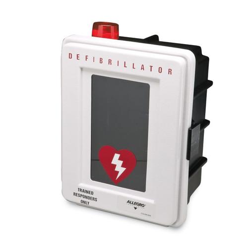 Allegro 4400‐DA Defibrillator Wall Case with Alarm, Plastic