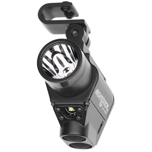 Nightstick Firefighter Helmet Mount Dual Light Flashlight NSP-4650B